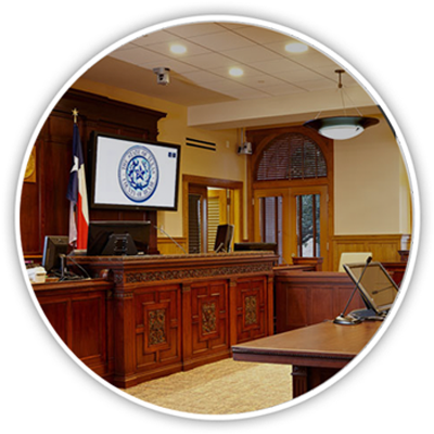 Courtroom Setup and Equipment Rental
